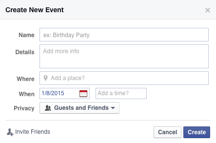 How to Create an Event on Facebook