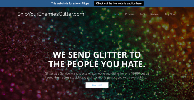 Ship Your Enemies Glitter