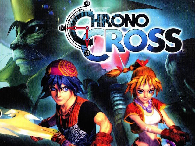 The heroes of the RPG Chrono Cross stand ready for a fight.