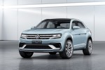 Volkswagen's Cross Coupe GTE Brings a Bold Hybrid Face to VW's Future