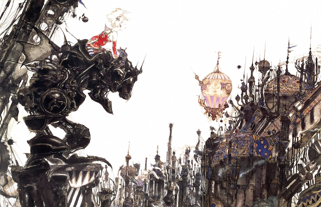 The Japanese cover art for the role-playing game Final Fantasy VI