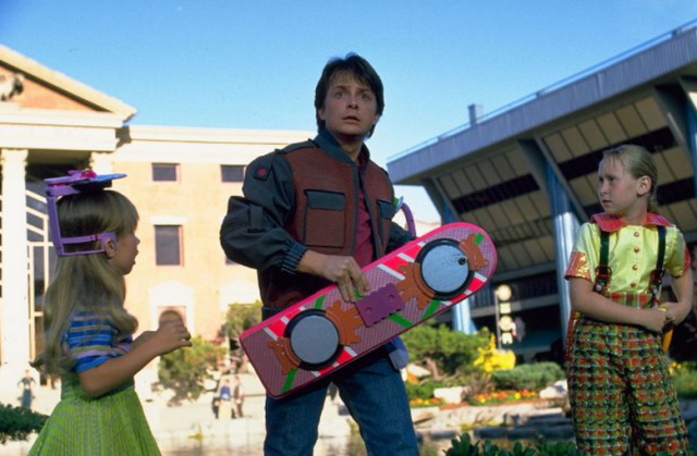 Back to the Future Part 2 Hoverboard