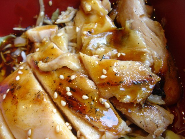 Teriyaki Chicken with Sesame seeds