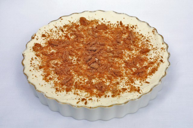 Banana cream pie, cheesecake
