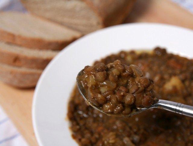 lentil soup, stew