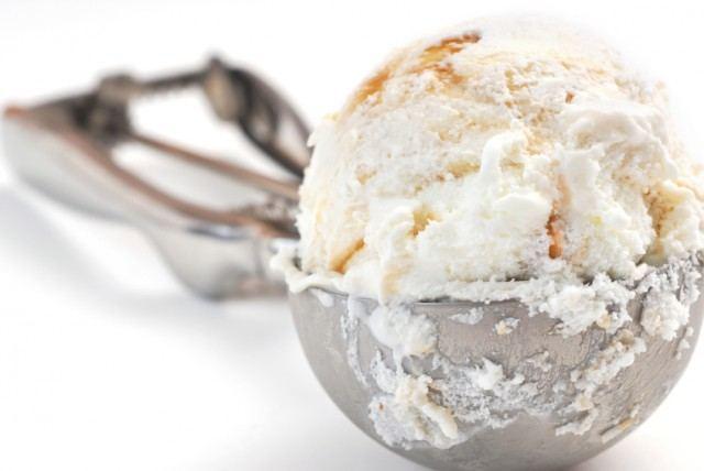 Scoop of Ice Cream, caramel