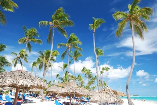 Caribbean beach, Dominican Republic