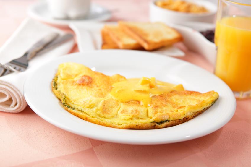 omelet breakfast