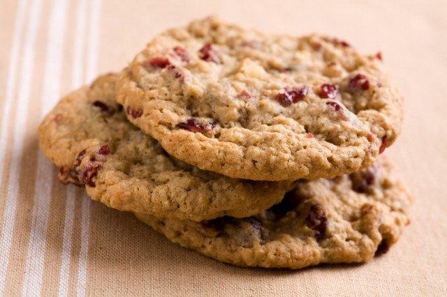 Cranberry nut breakfast cookies