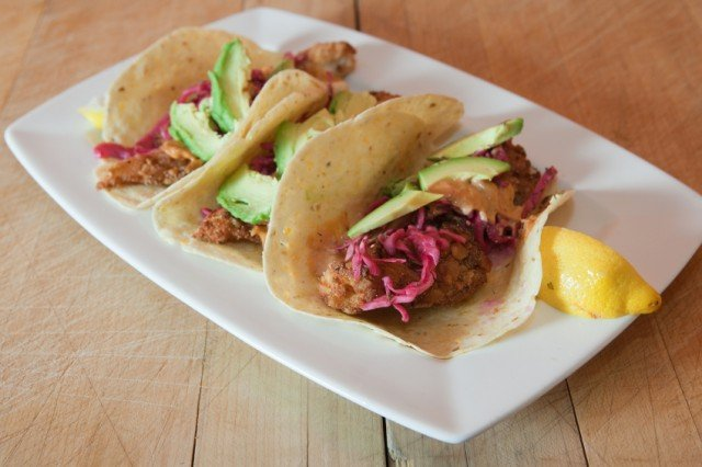 Fish tacos are perfect for easy weeknight dinners
