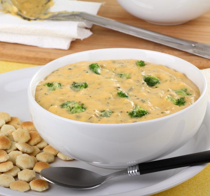 Creamy Broccoli Chedar Soup