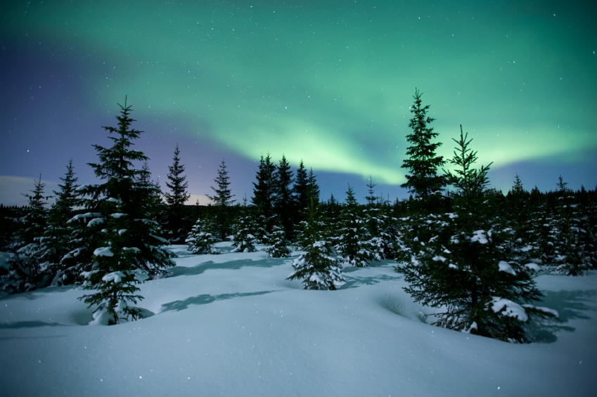 Aurora Borealis, northern lights, Norway