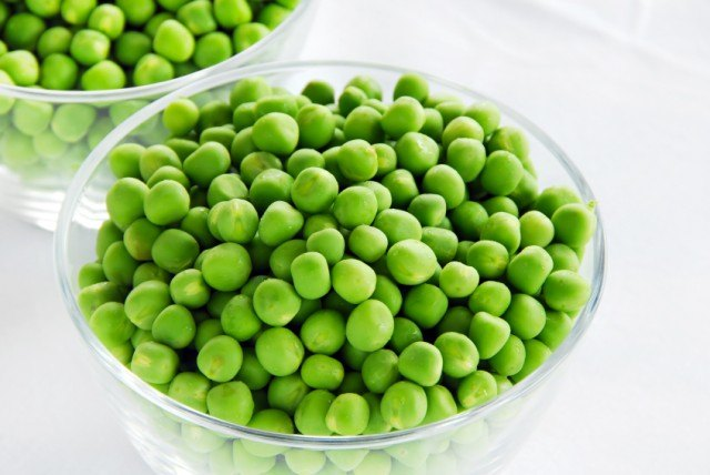 peas are great in salads
