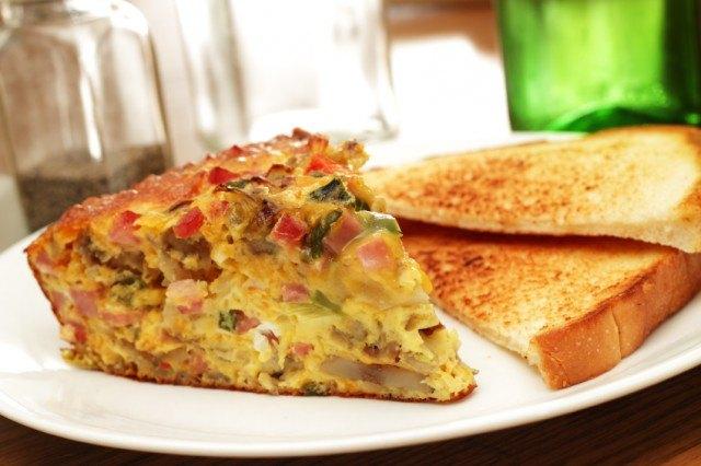 frittata, casserole, eggs