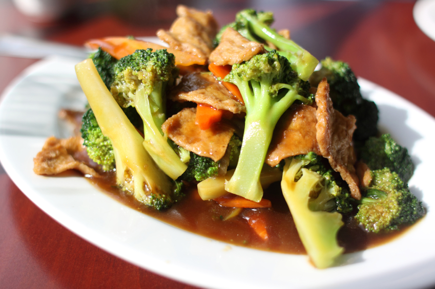 Broccoli Seitan Stir Fry