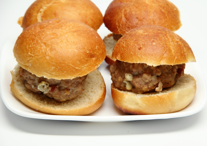 pork sliders burgers