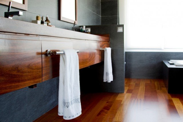 Towel rail, bathroom