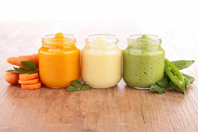 jars of baby food