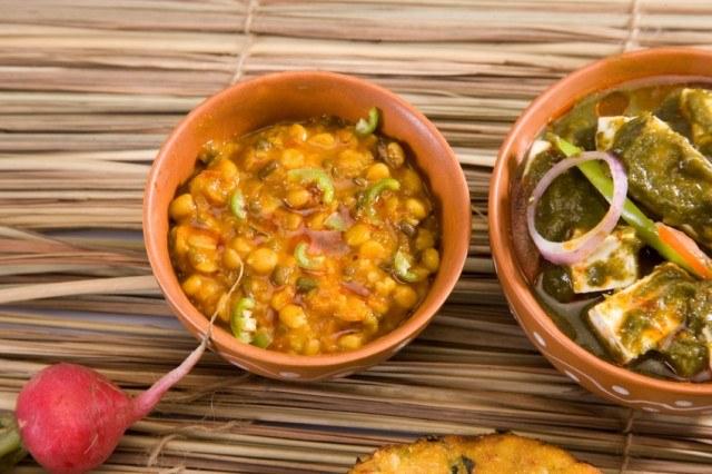 Curry, Maa Chole Ki Dal or Yellow Gram