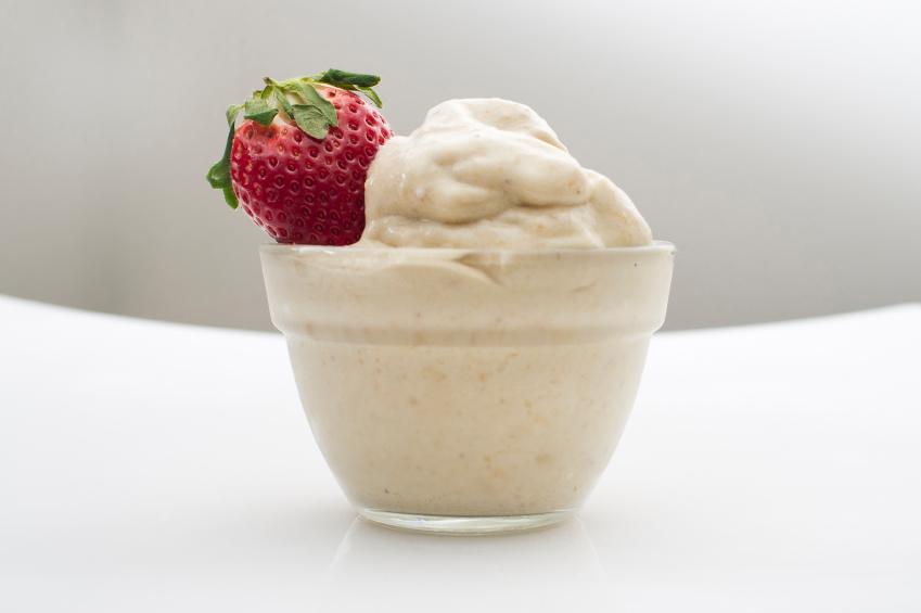 Banana Ice Cream, strawberry