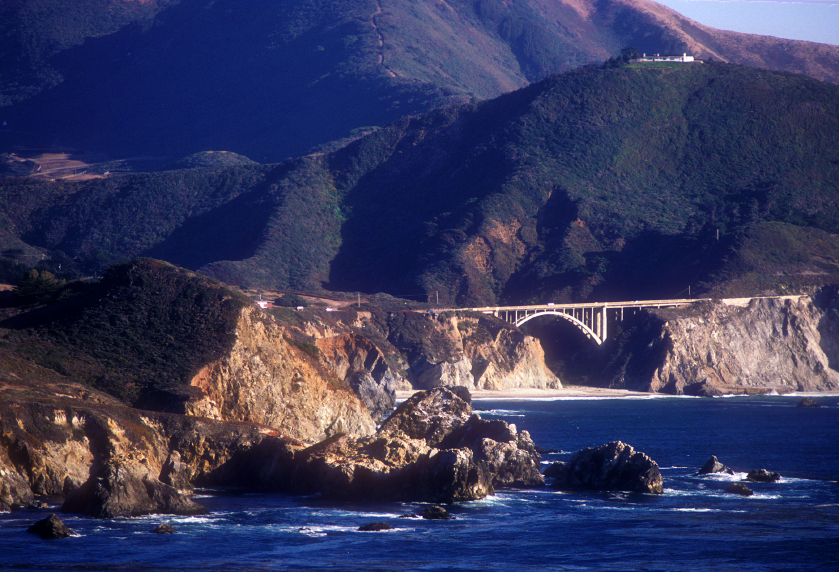 Bixby Creek Bridge, Big Sur Coast in California
