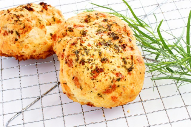 Cheddar Cheese Herb Biscuits