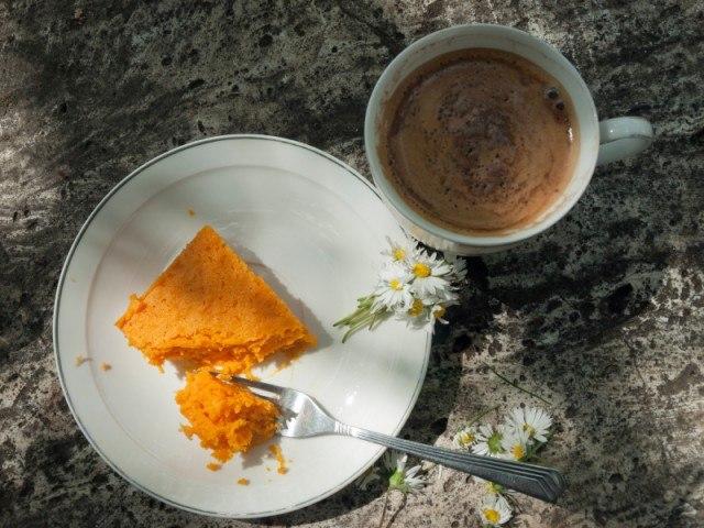 Pumpkin cheesecake, cake