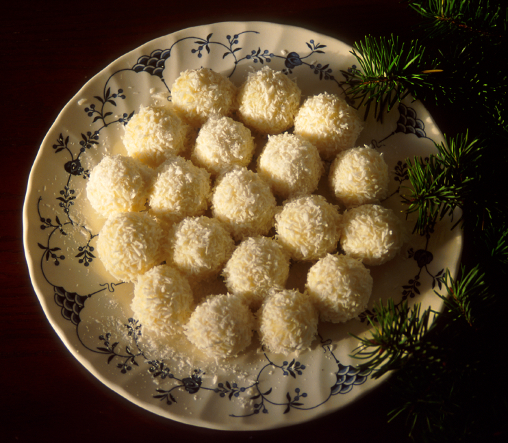 Coconut Truffle Balls
