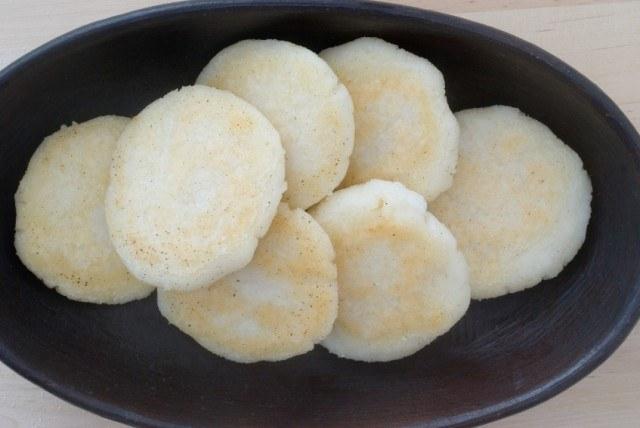 Arepas, bread