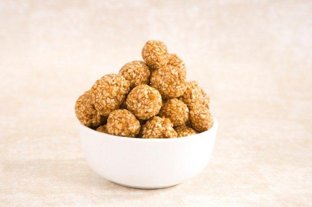 Rewri Balls or Sesame Seed Jaggery