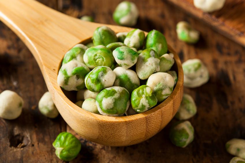 Dry Spice Wasabi Peas