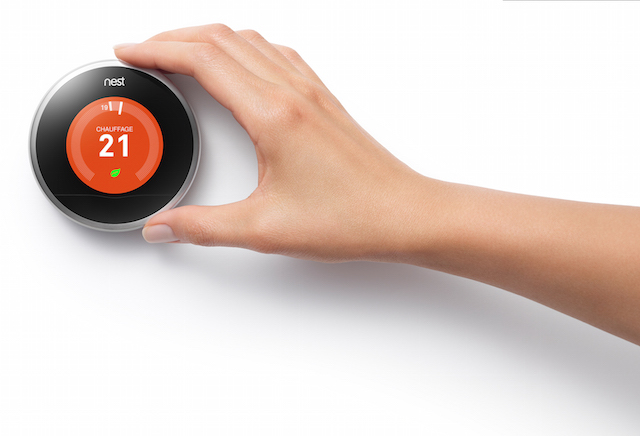 Nest thermostat heating