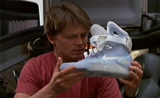 Marty McFly - self-lacing shoes