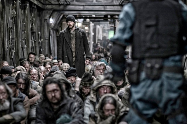 Chris Evans in Snowpiercer