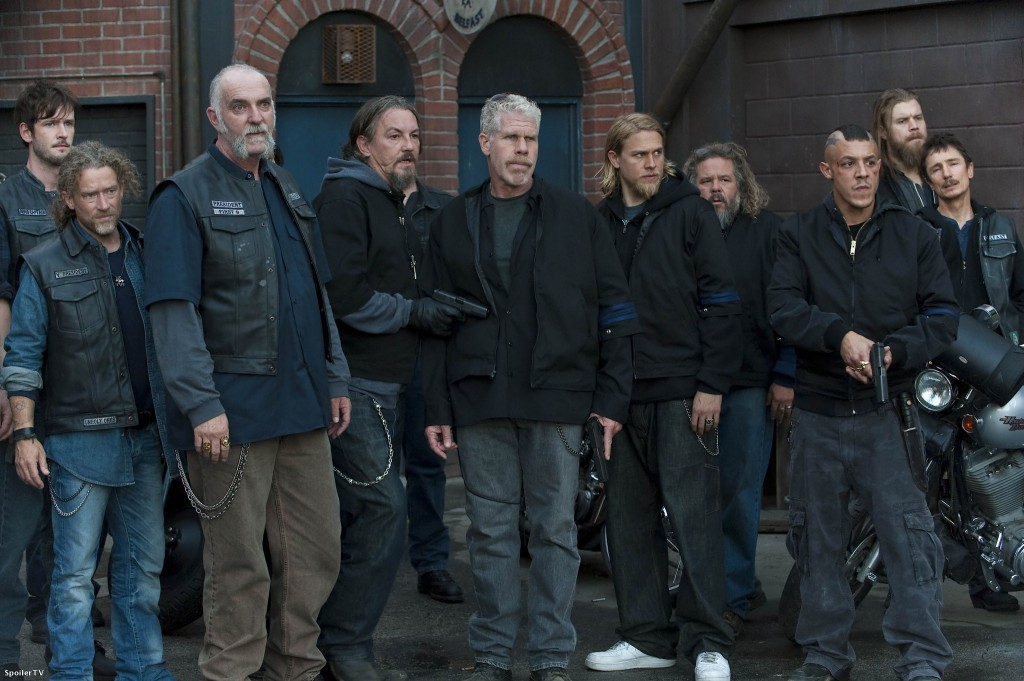 The cast of 'Sons of Anarchy   Source: FX