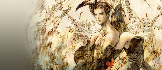 The heroes of the RPG Vagrant Story pose for a pic.