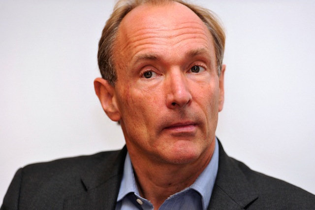 British computer scientist Tim Berners-Lee