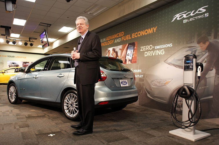 Ford Electric Car Plant Builds Electric Focus And Hybrid Vehicles