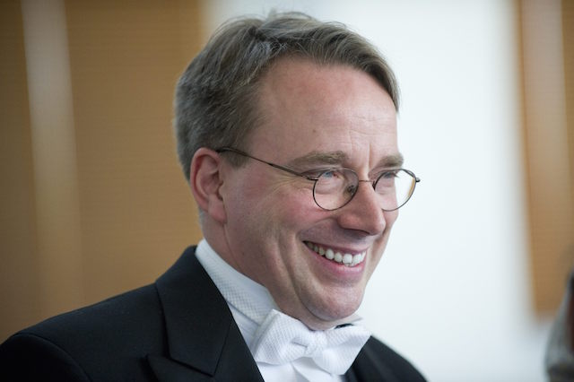 Linus Torvalds from Finland