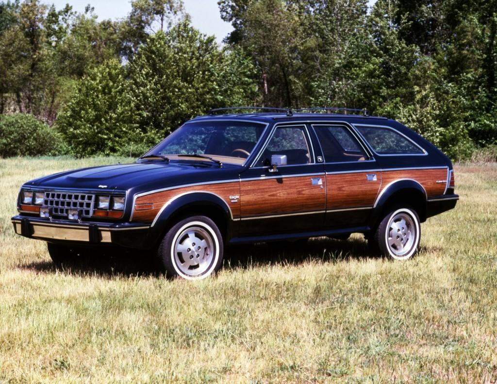 1986 AMC Eagle Wagon frnt lft