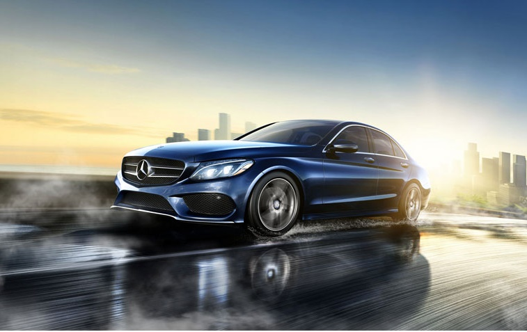 OEM photo of 2015 Mercedes-Benz C-Class in blue