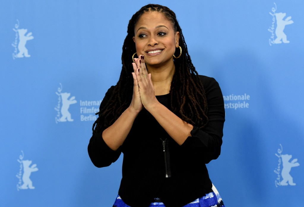 Ava Duvernay claps her hands