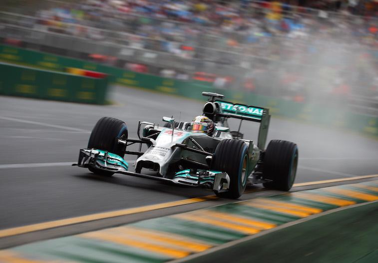 Australian F1 Grand Prix - Qualifying