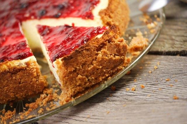 Cheesecake, raspberry