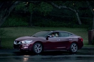 It Was Quick, But Nissan Revealed the 2016 Maxima at Super Bowl XLIX