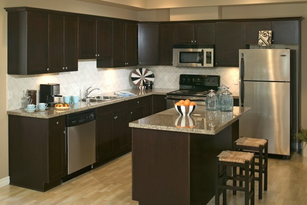 How to Create a Kitchen Island Using Stock Cabinets