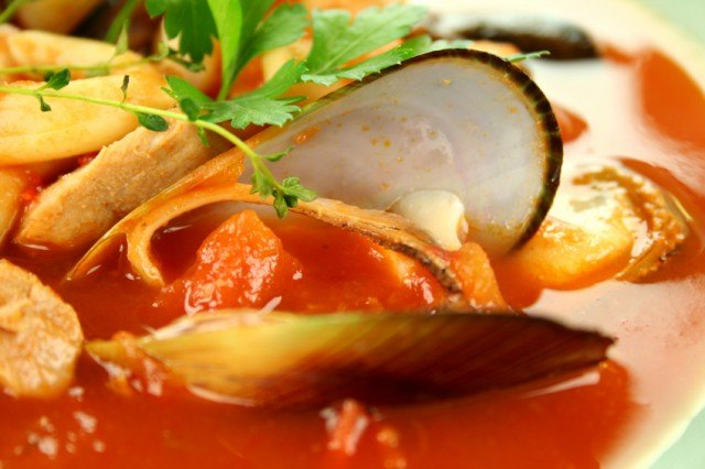 Seafood Soup, clam stew