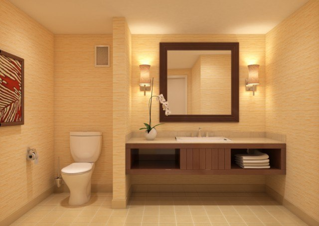 7 ways to go big in small bathroom design - Big Bathroom Designs