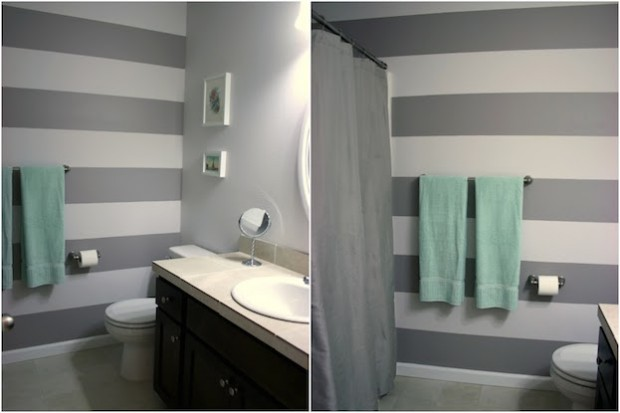 Paint Tricks To Make Your Small Bathroom Look Bigger 04