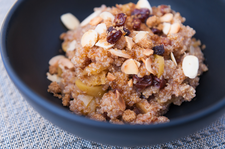 Quinoa Apple Cereal